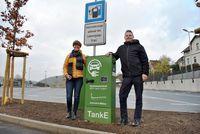 E-Ladesäulen an neuer Park-and-Ride-Anlage